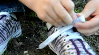 How to Tie Your Shoes - a video tutorial by a first grader