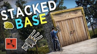 LUCKY FIND on a TWIG DOOR FRAME leads to MASSIVE PROFIT! - Rust Solo Survival #7
