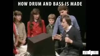 how drum and bass is made