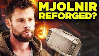THOR Secretly Reforged Mjolnir? (Infinity War, Endgame, Ragnarok & Thor 4 Theory)