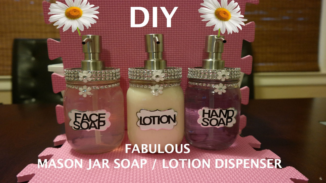 How to make mason jar soap dispenser diy & crafts handimania.