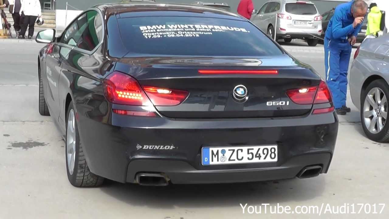 Bmw 6 Series Coup 233 650i Xdrive Ride Acceleration S