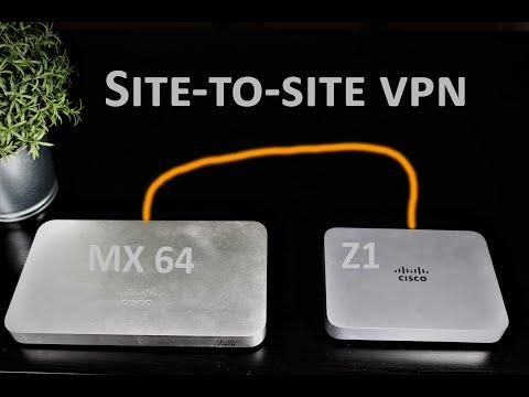 Cisco Meraki EP 06 - Site-to-site VPN  [Auto VPN]