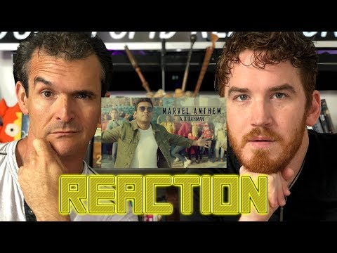 Marvel Anthem | A.R. Rahman | REACTION!!!