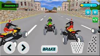 Bike Racing Games - Pro ATV Bike Stunts Game - Android Gameplay