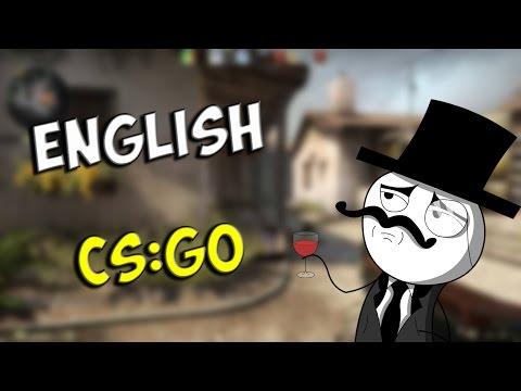 Английская CS:GO / English CS:GO