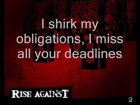 Rise Against - Survive (With Lyrics)
