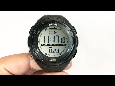 LinTimes Big Case Waterproof Multifunctional Digital Sport Wrist Watch Review and Giveaway