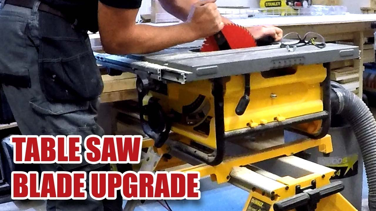 Freud 60 tooth blade on a dewalt dw745 table saw 61 youtube freud 60 tooth blade on a dewalt dw745 table saw 61 greentooth Choice Image