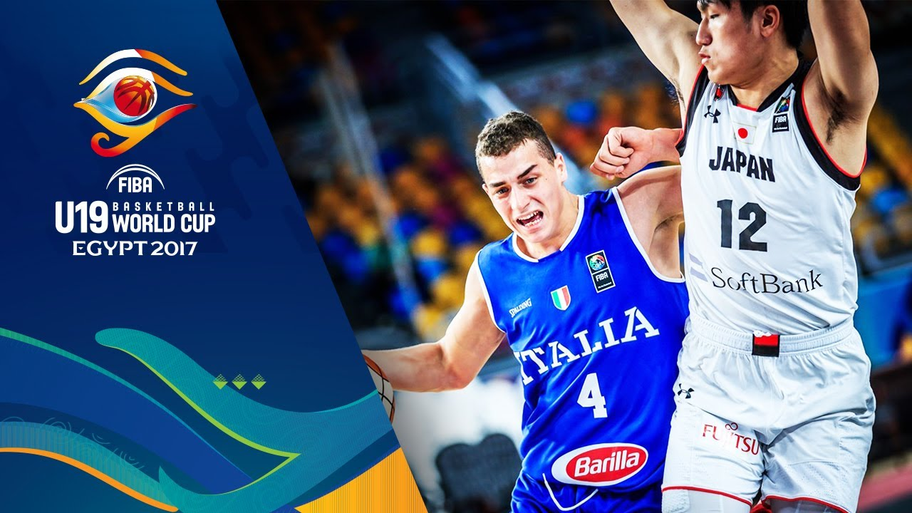 Japan v Italy - Full Game - Round of 16 - FIBA U19 Basketball World Cup 2017