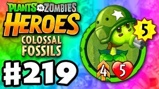 Gatling Pea Legendary! - Plants vs. Zombies: Heroes - Gameplay Walkthrough Part 219