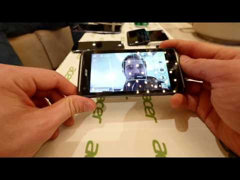 Acer Liquid Z410 Smartphone im Hands-On (4k/Deutsch)