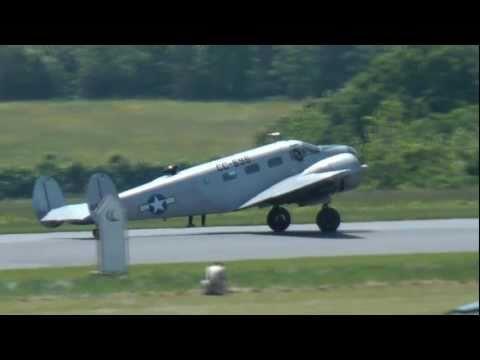 C-45 or Beech 18 at the Lynchburg Airshow  May 2011