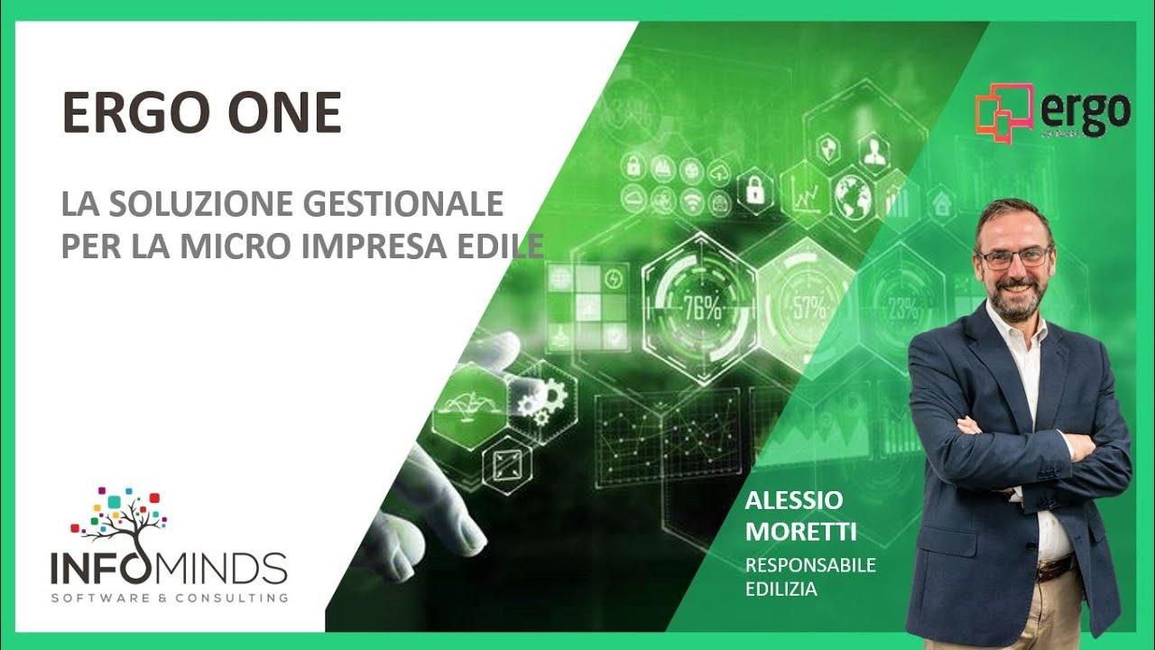 Webinar: ERGO ONE, il software integrato per la micro impresa edile