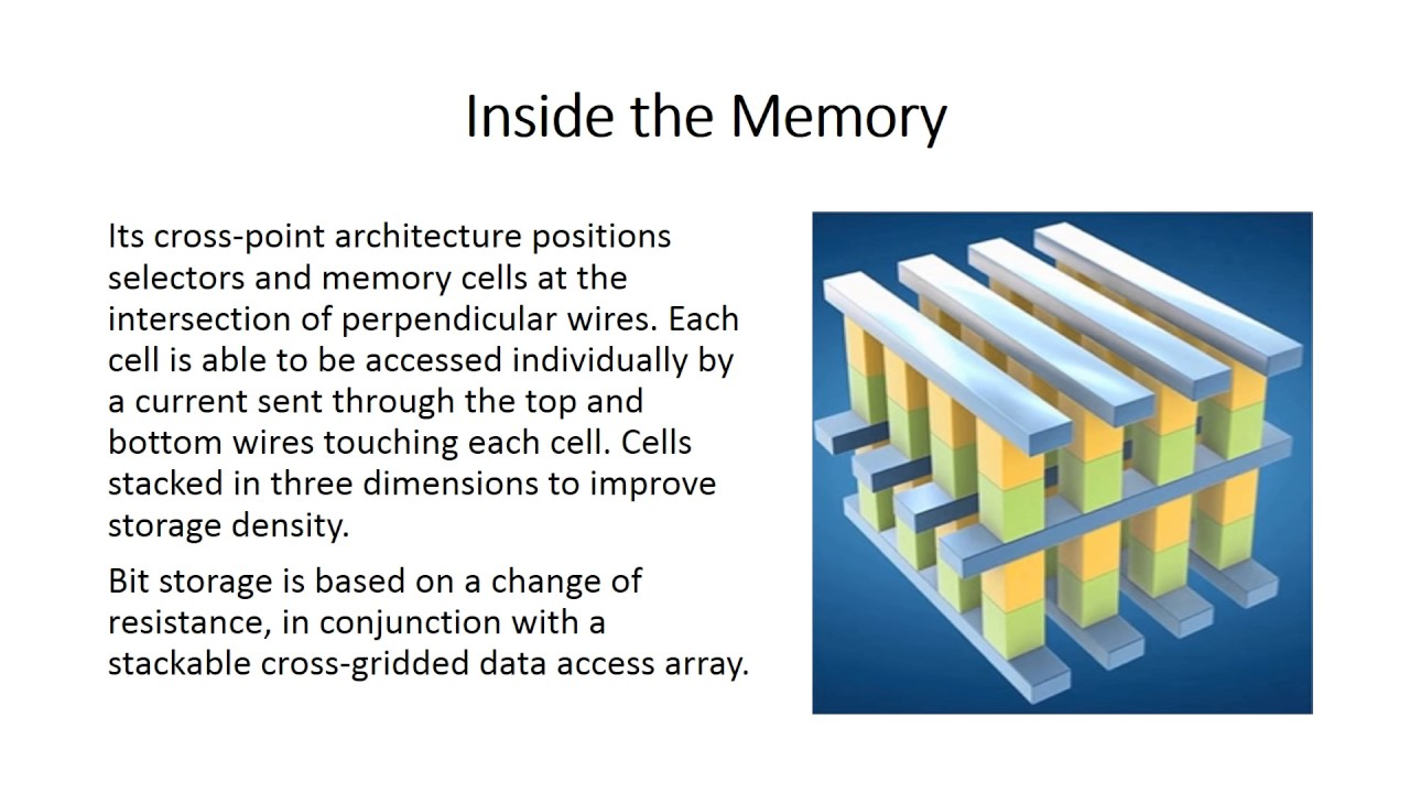 3D Xpoint Memory Technology - YouTube