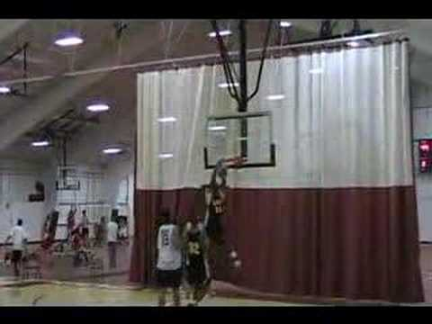 "Alex ""A-train"" Oriakhi Dunks Again!!"