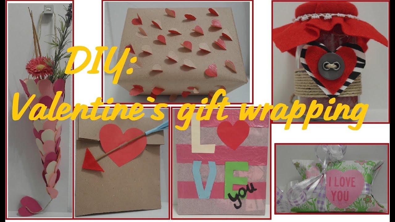 Diy Valentine S Day Gift Wrapping Ideas Valentinstagsgeschenke