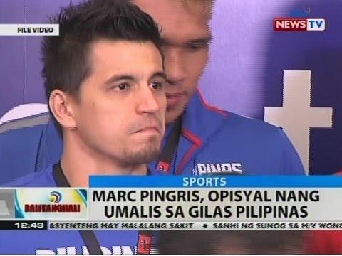 BT: Marc Pingris, opisyal nang umalis sa Gilas Pilipinas