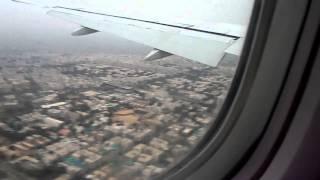 Pakistan International Airlines Boeing 777 landing at Jinnah International Airport