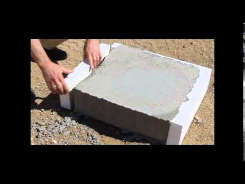 Removing Eps Foam Insulation From Concrete Youtube