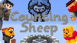 ¡CAZADORES DE LANA! COUNTING SHEEP | Minecraft Con Luh, Exo Y Macundra