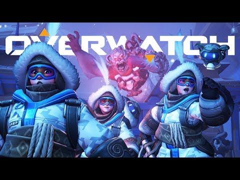 Atrapando Yetis!! | Overwatch
