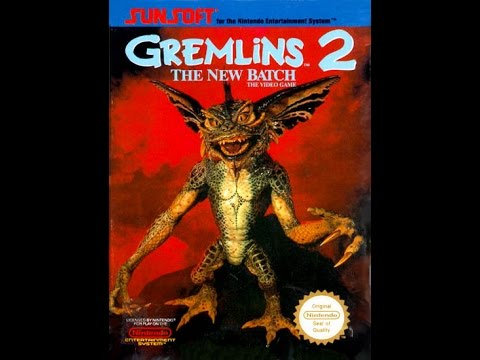 "(EPISODE 1,176) RETRO GAMING: LET'S PLAY GREMLINS 2 ""THE NEW BATCH"" (NES) 1990"