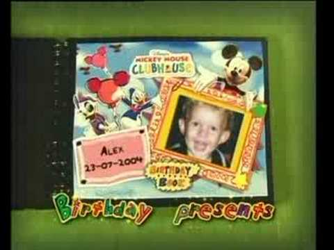 playhouse disney birthday book kristen youtube