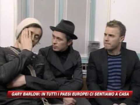 Take That Interview SKY TG24 Italy 18.03.2009