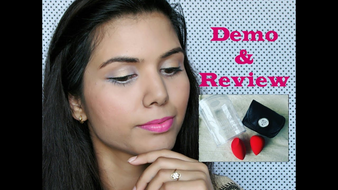 makeup tutorial using just pac ultimate beauty blender sponge | demo