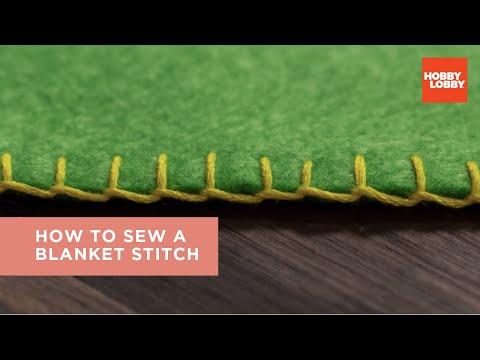 How To Sew A Blanket Stitch | Hobby Lobby®