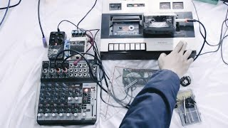 Ambient / Drone : Double Tape Loops Experiment