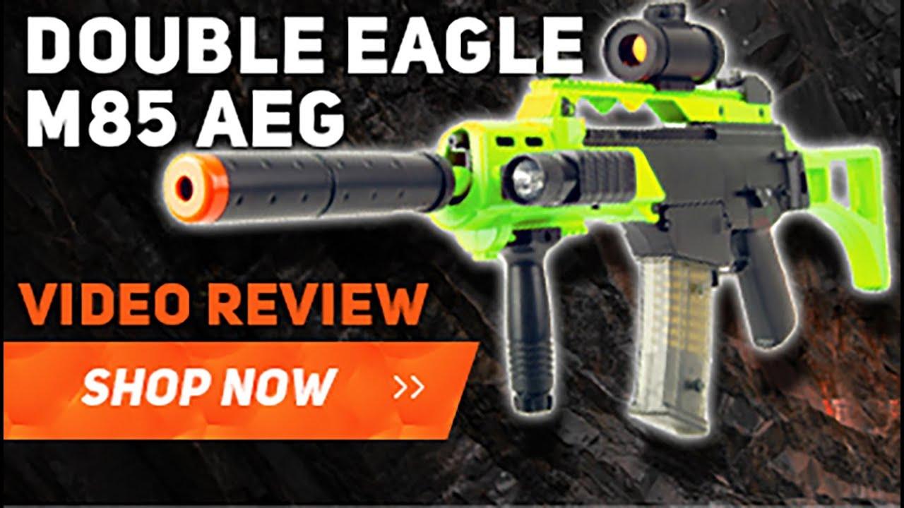 Double Eagle M85 G36 Replica Electric bb gun in blue