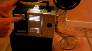 projecteur bauer t1s super 8 mm avec bobine et notice 07