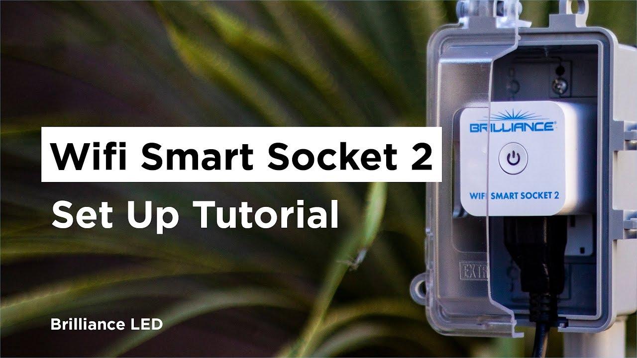 Smart Socket 2   LED WiFi Remote Landscape Lighting Control