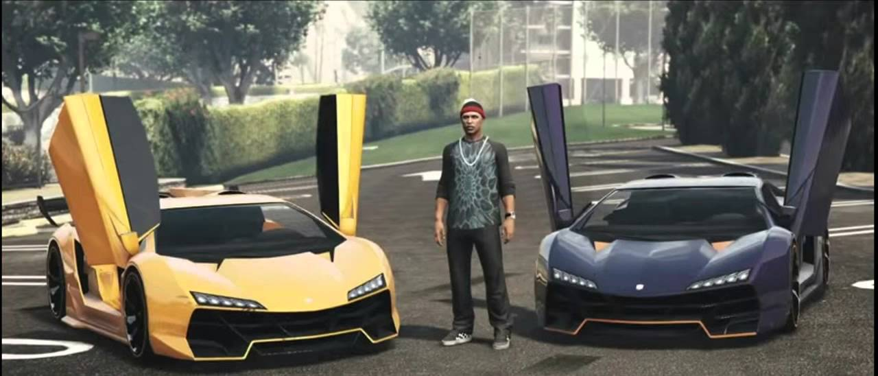 Ksi Lamborghini Explicit Ft P Money Gta V Version