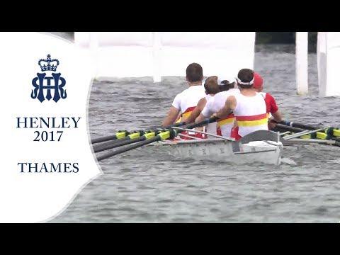 Scullers' vRiverside- Thames | Henley 2017 Day 1