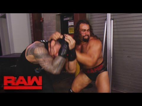 Rusev ambushes Roman Reigns backstage: Raw, Aug. 15, 2016
