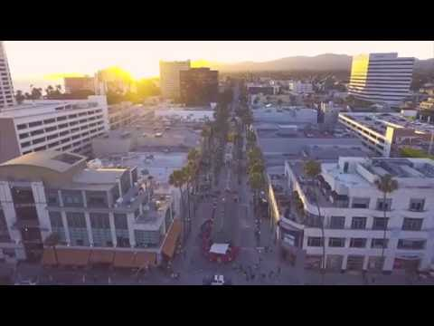 Aerial View of Santa Monica in 4K - DJI Phantom 4 | Brandon Kang
