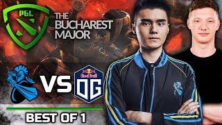 OG vs NEWBEE - EU vs CHINA! - PGL BUCHAREST MAJOR - Dota 2