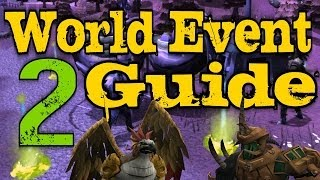 Runescape 3 - Bird and the Beast Guide World Event 2 - GREAT Rewards!