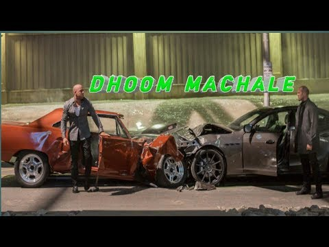 All Fast and furious best scenes DHOOM MIX thumbnail