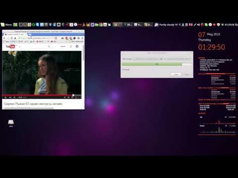 Запись ISO на флешку в Linux Mint