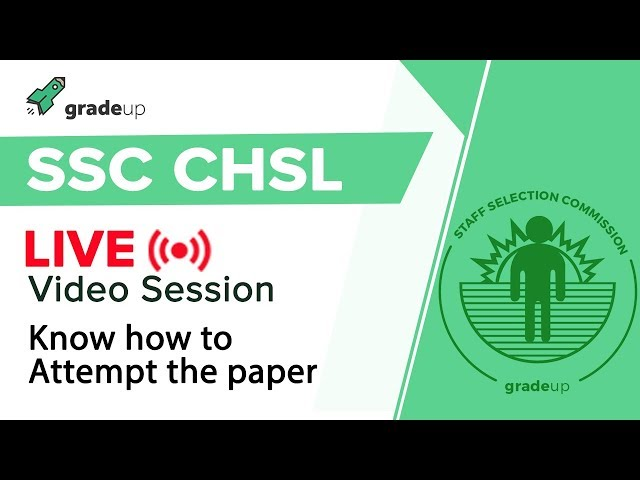 How to attempt SSC CHSL Question Paper  Tips to Crack the exam