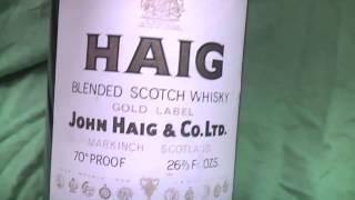 40-50 Year Old Haig Whiskey