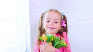 Max and Arina kids story about friendship