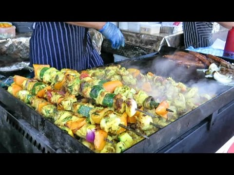 Street Food from Morocco in London. Seen and Tasted in Brick Lane
