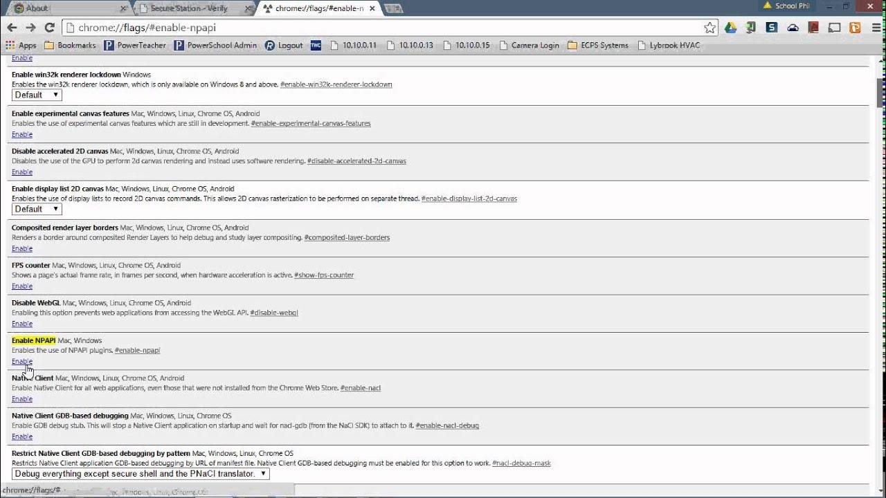 enable java google chrome windows 10