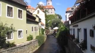 Český Krumlov (Krumau) -  Perle in Südböhmen
