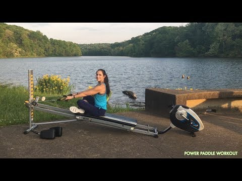 Canoe and Kayak Training on the Total Gym